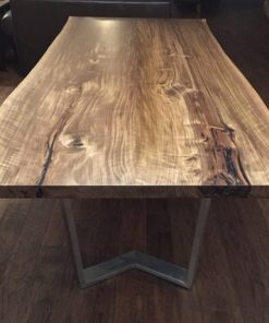 Black Walnut Live Edge Dining Table - 5 - Woodify