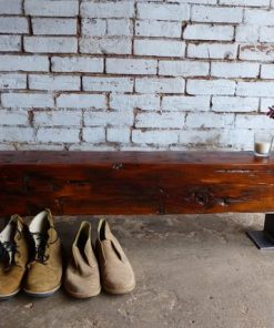 Reclaimed Barn Beam Benches- Solid Wood- Furniture -1 - Woodify