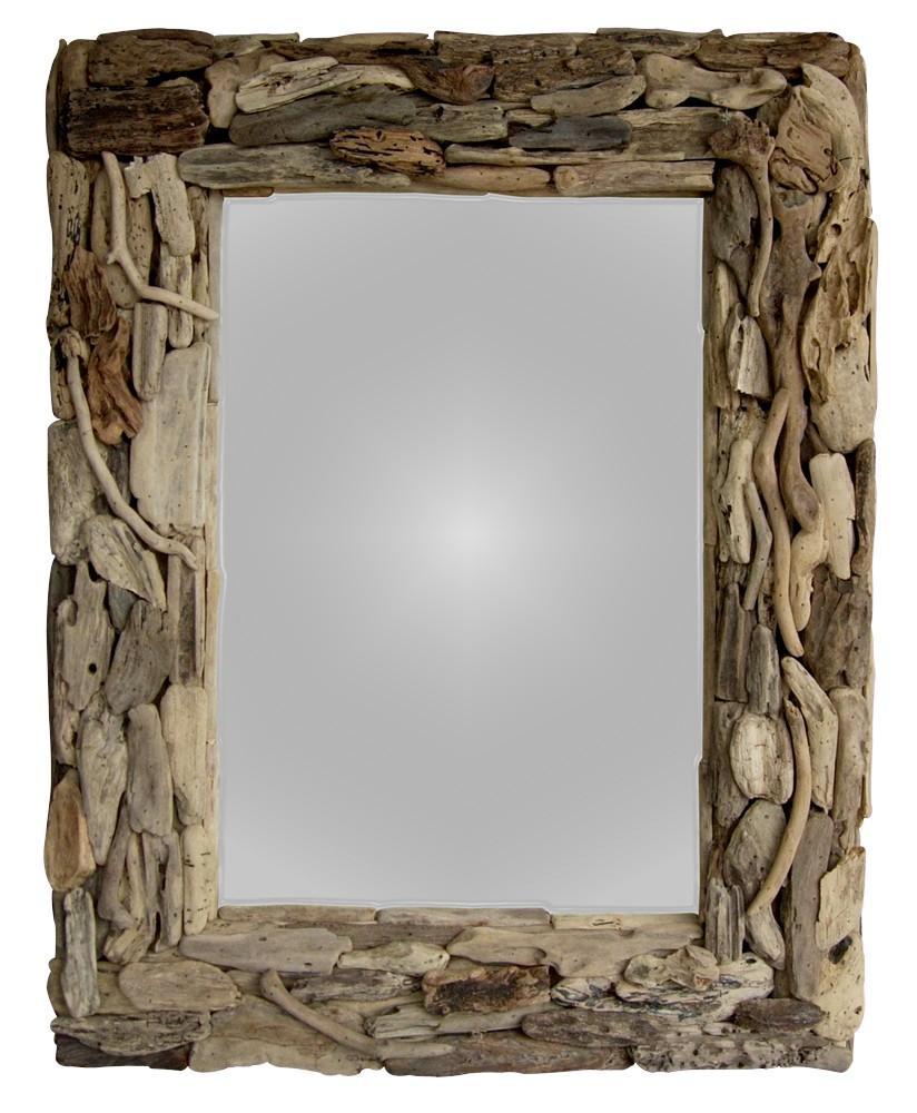 Natural Driftwood Mirror - Woodify