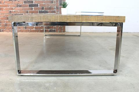 Mango Wood Coffee Table With Industrial Metal Legs Woodify Canada