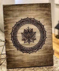 Pyrography wood art - Woodify
