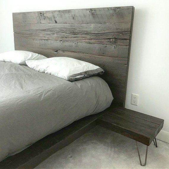 Floating-Platform-Bed-with-Integrated-Side-Tables-Reclaimed-Wood-2-Woodify