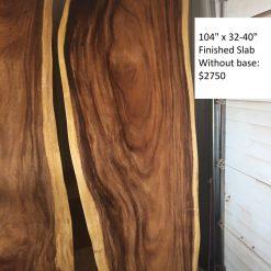 Finished Wood Slab without Base - Woodify Canada