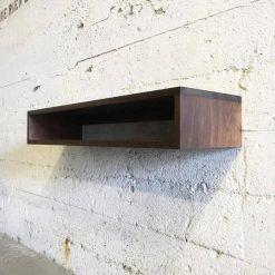 GROGG Solid Black Walnut Floating Shelf - Woodify Canada 1
