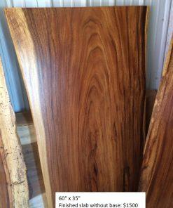 Wood Slab No Base - Woodify Canada