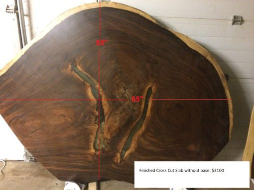 Wood Slabs - Cross Cut No Base - Woodify Canada