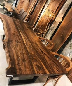 Walnut Slab Conference Tables