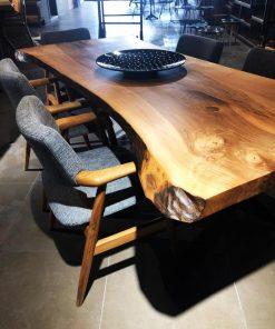 Black Walnut Slab Tables - Woodify 1