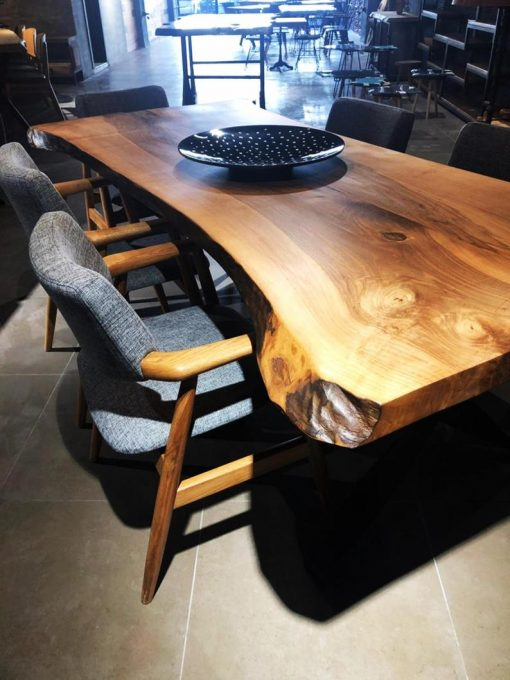Black Walnut Slab Tables - Woodify 1