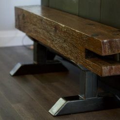 Industrial Barn Beam Bench - Woodify 3