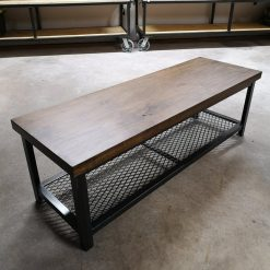 Industrial Rustic TV Stand - Woodify