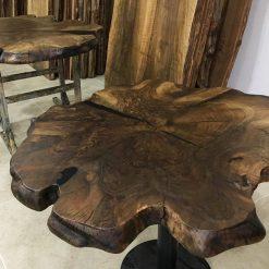 Large Live Edge Walnut Coffee Table Woodify 2