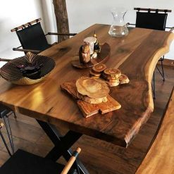 Live Edge Walnut Kitchen Table