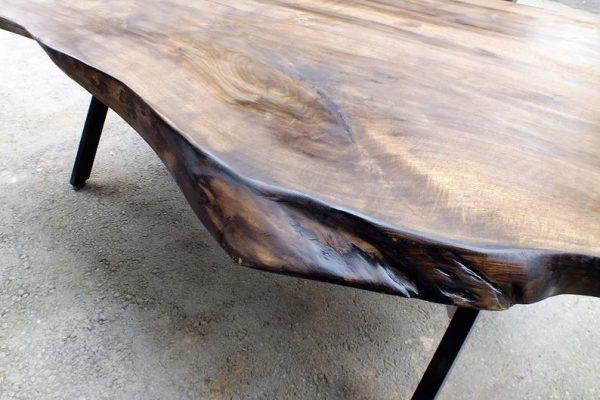 Solid Black Walnut Dinning Table - Woodify 7
