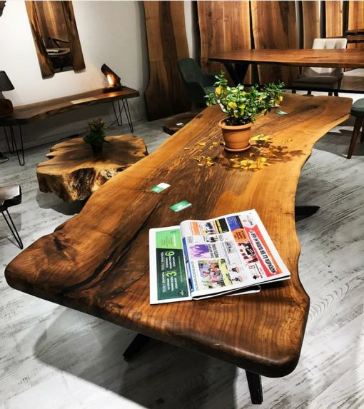Woodify Canada Live Edge Custom Table