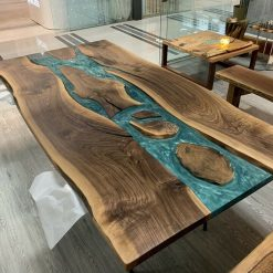Epoxy River Dining Tables - Woodify