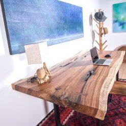 Live Edge Slab Wood Table - Woodify 2