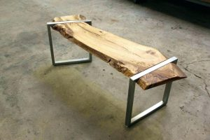 Live Edge Wood Benches - Woodify