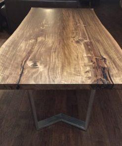 Black Walnut Live Edge Dining Table - 5 - Woodify