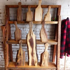 Live Edge Straight Edge Serving Boards- Solid Wood - 1 - Woodify