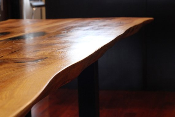 Live Edge Ontario Reclaimed Wood Dining Table Woodify Canada