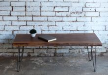 Live edge single slab coffee table - 1 - Woodify