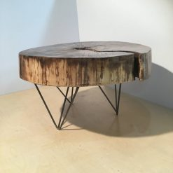 Rustic Living Edge Side Table