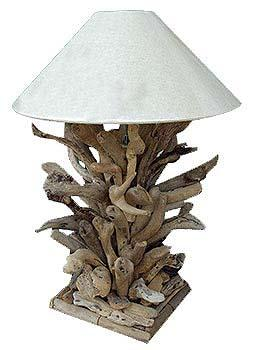 Driftwood Branch Table Lamp & Accent Lighting - 1 - Woodify