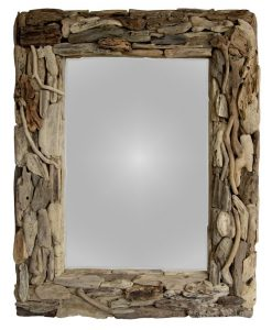 Natural Driftwood Mirror - Woodify