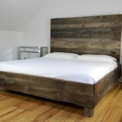 Rustic Barnwood Bed Frame - Reclaimed - 1 - Woodify
