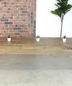 Mango Wood Coffee Table With Industrial Metal Legs - 1 - Woodify