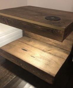 Handmade Contemporary U-shaped night stands - Woodify 1