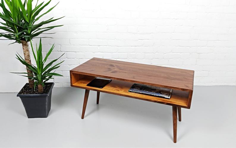 Mid Century Modern Retro Coffee Table | Mid Century Table ...