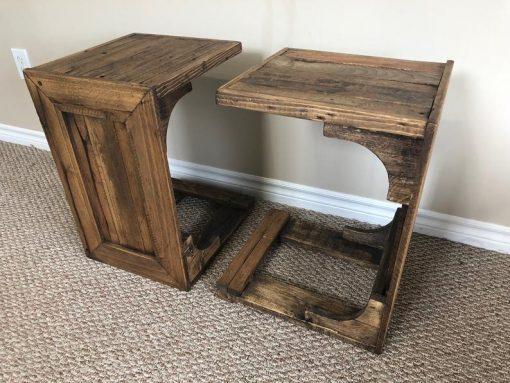 Space Saving Wood Coffee Table - Woodify Canada 1