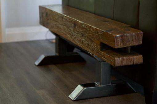 Industrial Barn Beam Bench - Woodify 3