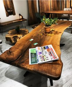 Woodify Canada Live Edge Custom Table
