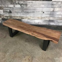 Acacia Bench Dining Bench - Woodify 2