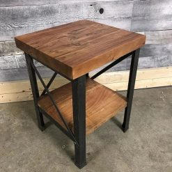Acacia Side Table - Woodify 1