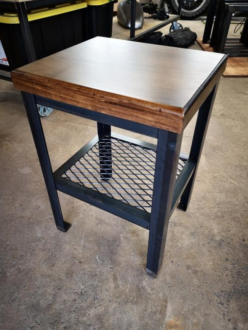 Industrial Night Tables - Woodify