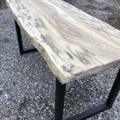 Live Edge Hackberry Desk - Woodify 3