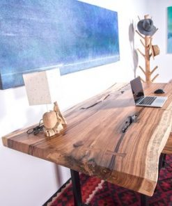 Live Edge Slab Wood Table - Woodify 2