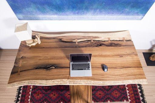 Live Edge Slab Wood Table - Woodify