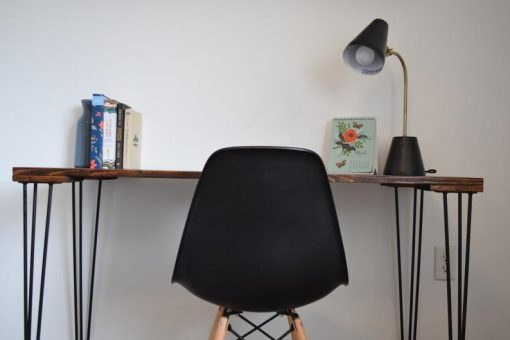 Minimalist Hairpin Leg Desk - Woodify