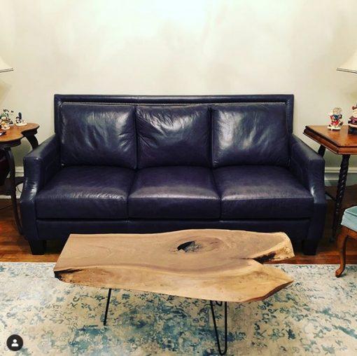 Walnut Live Edge Coffee Table - Woodify