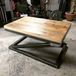 Industrial Coffee Table - Woodify