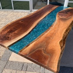 Live Edge Walnut Epoxy River Tables Woodify