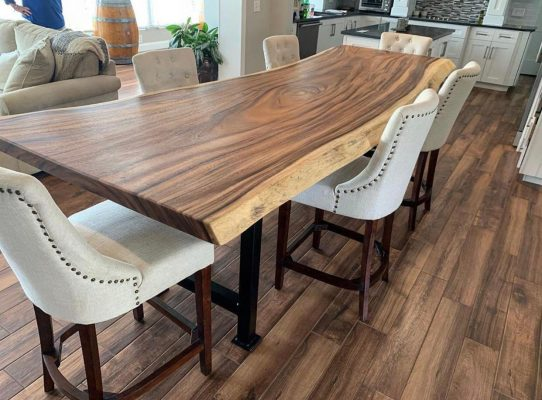Live Edge Tables from Woodify Canada