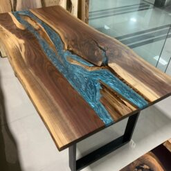 Live Edge Epoxy River Tables - Woodify Canada