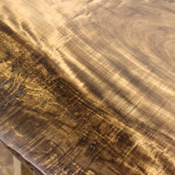 Reclaimed Maple Live Edge Dining Table - Woodify Canada