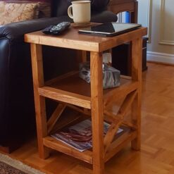 Rustic Pine Side Tables - Woodify Canada 2